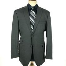 Perry Ellis Men's Size 44L Gray Blazer Sport Coat Jacket - $19.80