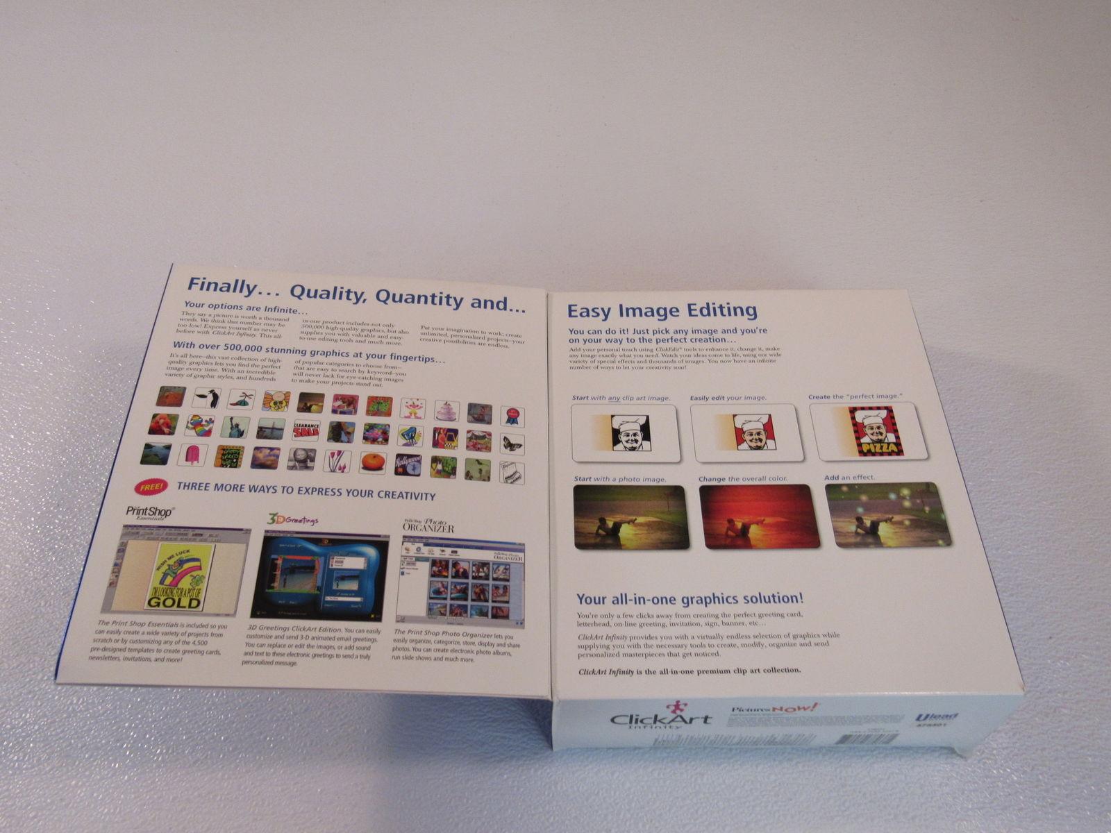 Broderbund ClickArt Infinity Clip Art Collection 500,000 Premium Images 378037