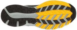 Saucony Uomo Nero/Grigio/Giallo Cohesion 10 Corsa Runners Scarpe Sneaker Nib image 6