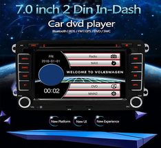 Junsun DVD - 7.0 - CE with Rearview Camera 7.0 inch 2 Din In-dash WiFi C... - $179.55