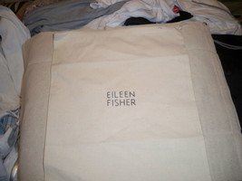 Eileen Fisher Handbag Purse Pouch Sleeper Dust Bag Organic Cotton 14x12 - $7.91