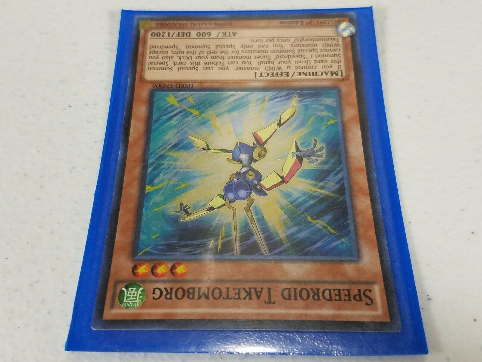 Yu-gi-oh! Trading Card - Speedroid Taketomborg - HSRD-EN006 - Super Rare 1st Ed.