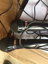 (2)Sony F-V120 Cardioid Handheld Dynamic Vocal Microphones - $44.00