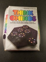 Think Ominos  Game by Pressman 1984 brain teaser board game - $11.88