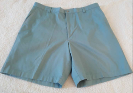 Mens Greg Norman Golf Shorts size 38 Green - $8.90