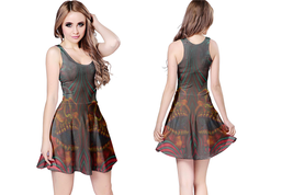 DMT SKULL crystal Reversible Dress - $25.99+