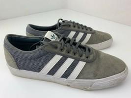 Adidas Skateboarding Adi Ease Men's Shoe Size 11.5 Grey White CQ1063 - $29.69