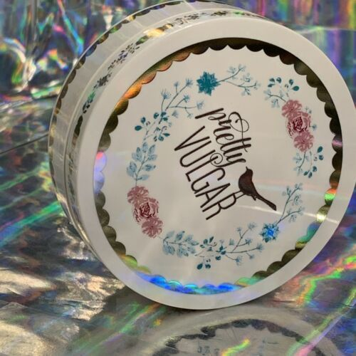 NWOB Full Size Pretty Vulgar Powder Room In TRANSPARENT *SOLD Out*