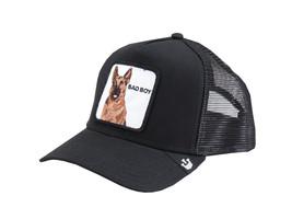 Goorin Bros Snapback Mesh Cap Animal Farm Trucker Hat Black - Bouncer