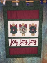 14 X 21 Christmas Quilted Wall Tapestry Hanging... - $15.84