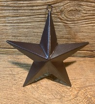 """Brown Metal Lone Star 6 3/4"""" tall & 6 5/8""""wide (Single) Accent Decor 017... - $16.00"""