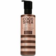 NEW Bath & Body Works COCO SHEA COCONUT 24 Hour Moisture Body Lotion 7.8... - $42.06