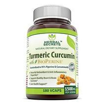 Herbal Secrets Turmeric Curcumin with Bioperine Dietary Supplement – 150... - $29.99+
