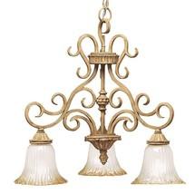 Kichler Lighting Kitchen Island Light Art Glass Scrolls Antique Highlights - $134.31