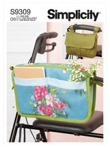 Simplicity Walker Caddy & Bag- - $17.20