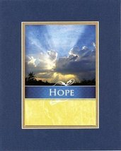 Motivational Poems  Hope. . . 8 x 10 Inches Biblical/Religious Verses se... - $11.14