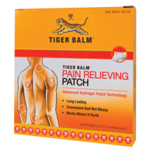 Tiger Balm Pain Relieving Patch, 5 Patches - $12.96