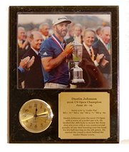Dustin Johnson 2016 US Open Golf 8x10 Picture Photo Clock Plaque with Engraved N - $34.29