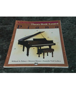 Alfred's Basic Piano Library Piano Theory Book Level 6 - $2.99