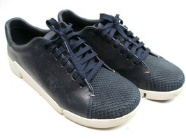 Clarks Womens Artisan Trigenic Casual Lace Up Shoes Tri Abby Leather Siz... - $16.66