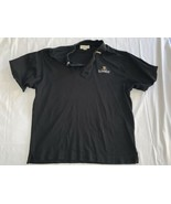 Guinness Black Polo Shirt Size XL Cotton Official Embroidered Logo Golf - $14.24