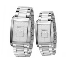 Emporio Armani Ar2036 And Ar2037   His And Hers Armani Watches - £294.88 GBP