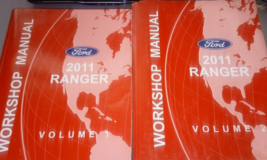 2011 ford ranger truck service repair shop workshop manual set oem - $98.98