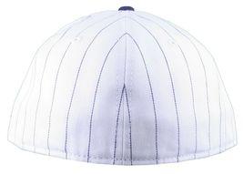 Dissizit NEW ERA Aderente Cappello Baseball Bianco/Navy Pinstripe York City Nyc image 4