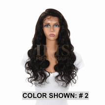 """Jk Trading Iris Front & Back Part Lace 100% Remy Human Hair Wig """"Chloe 24 Inch"""" - $269.99"""