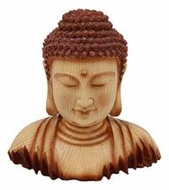 Ebros Medium Feng Shui Shakyamuni Buddha Gautama Bust with Ushnisha and Rosy Che - $28.98
