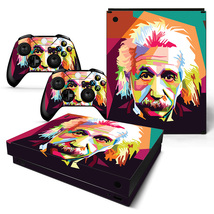 Albert Einstein Xbox one X Skin for Xbox one X Console and Controllers - $17.00