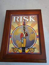 Risk The Classic Game of Global Domination Complete in Vintage Style Woo... - $17.81