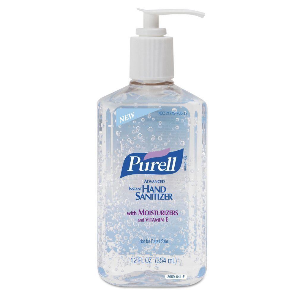 Instant Hand Sanitizer, 12oz Pump Bottle 1 each - $16.15