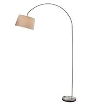 Adesso 5098-22 Goliath Floor Lamps 60in Satin Steel 1-light - $150.00