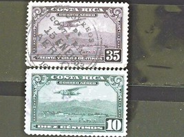 Costa Rica Set of 3 Stamps Cancelled Free Shipping #700167 - $1.68