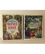 The Random House Book of Bedtime Stories and Mother Goose Lot 2 Hardcove... - $11.99
