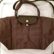 LONGCHAMP LE PLIAGE CUIR Leather Foldable Crossbody Shoulder Bag - $589.99
