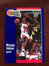 1991-92 Fleer - Michael Jordan - League Leaders #220 - $0.99