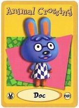 Doc 081 Animal Crossing E-Reader Card Nintendo GBA - $9.89