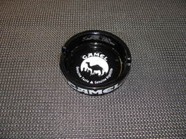 Camel Black Glass 'Nightlife' Round Ashtray - $15.95