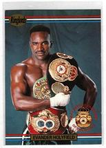 EVANDER HOLYFIELD Heavyweight 1991 Ringlords #1 - Boxing Card - $6.88