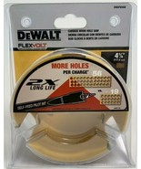 "DeWalt DWAFV0458 Flex Volt 4-5/8"" Carbide Wood Hole Saw - $33.66"