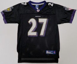 Baltimore Ravens Ray Rice #27 NFL Jersey Reebok On Field Black Youth Lar... - €6,78 EUR