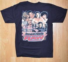 Men's Wrestling T-shirt Raw 2007 Randy Orton Umaga Triple H HBK Size L Black  - $5.90