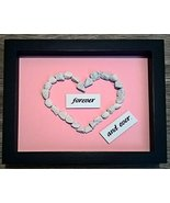 Customized Pebble Art: Forever   Perfect Wedding Gift. Handcrafted Gift ... - $25.95