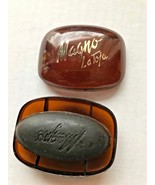 Vintage Magno La Toja Black Glycerin Soap 1 Small Bar - $7.99