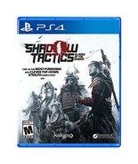 Shadow Tactics: Blades of the Shogun - PlayStation 4 [video game] - $18.48