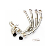 Stainless Steel Tube Full System Exhaust Header Link Pipe For YAMAHA YZF R6 - $482.40