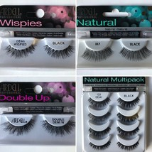 Ardell Professional Eyelashes BLACK -Natural, Wispies, and Double Up CHOOSE QTY  - $6.99+