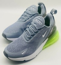 NEW Nike Air Max 270 Obsidian Mist White Lime Green AH6789-404 Women's Size 8 - $148.49